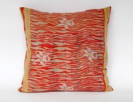 India old sari pillow SOLD